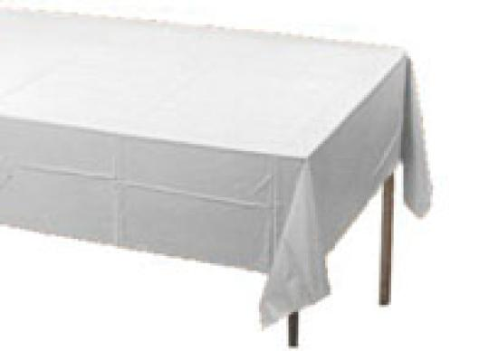 white table covers